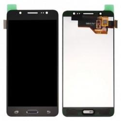 Ekranas Samsung J510F J5 (2016) su lietimui jautriu stikliuku juodas originalus (service pack)