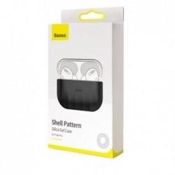 Deklas Baseus Shell Silica Gel Airpods Pro pilkas