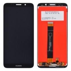 Ekranas Huawei Y5 2018/Y5 Prime 2018/Honor 7S su lietimui jautriu stikliuku juodas HQ