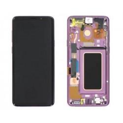 Ekranas Samsung G965F S9 Plus su lietimui jautriu stikliuku violetine (Lilac Purple) originalus (used Grade C)