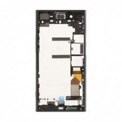 Ekranas Sony G8141 Xperia XZ Premium su lietimui jautriu stikliuku su remeliu sidabrinis originalus (used Grade A)
