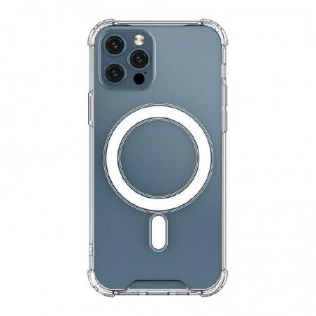 Deklas Clear Magnetic (MagSafe) Apple iPhone 12 Pro Max skaidrus