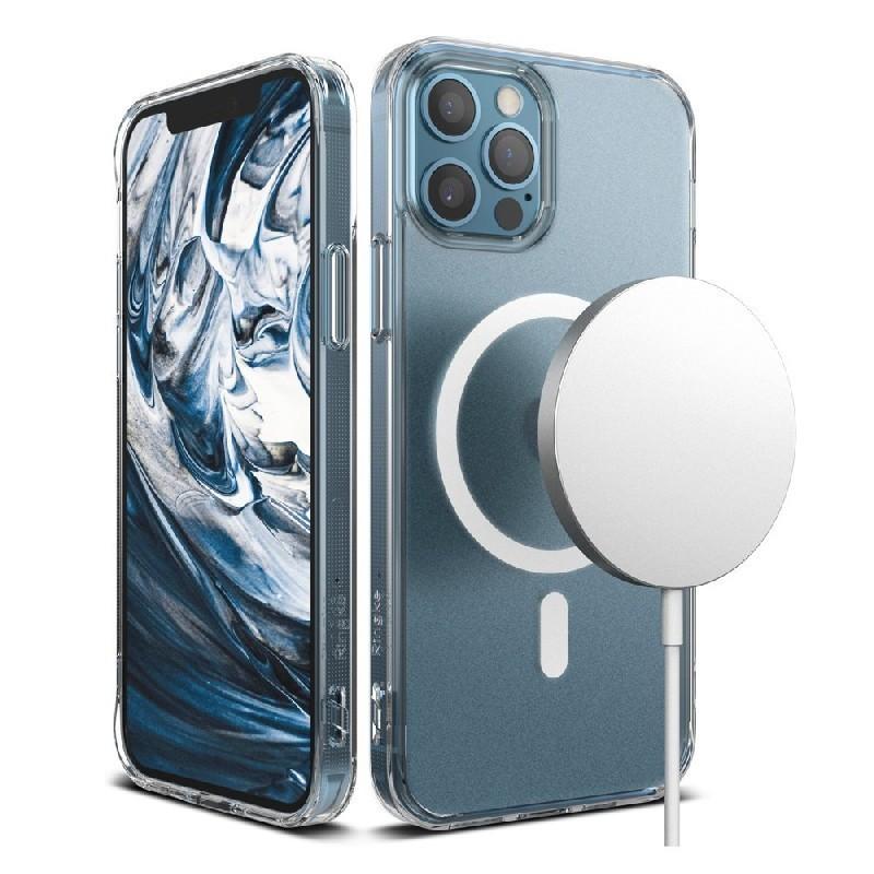Deklas Ringke Clear Magnetic (MagSafe) Apple iPhone 12/12 Pro skaidrus