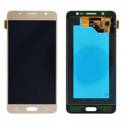 Ekranas Samsung J510F J5 (2016) su lietimui jautriu stikliuku auksinis originalus (service pack)