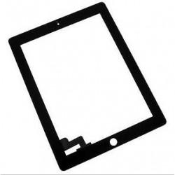 Lietimui jautrus stikliukas iPad 2 juodas HQ