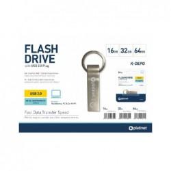 Atmintinė Platinet Metal Waterproof 64GB USB 2.0