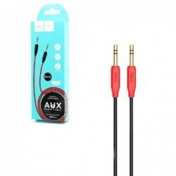 Audio adapteris HOCO UPA11 3,5mm į 3,5mm (p-p) juodas