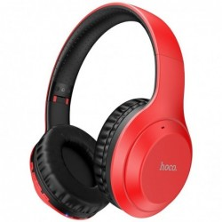 Bluetooth ausines HOCO W30 raudonos