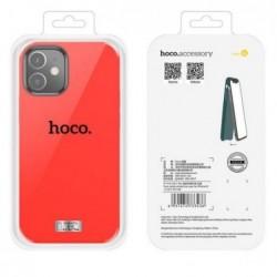 """Deklas """"Hoco Pure Series"""" Apple iPhone 12 Pro Max raudonas"""
