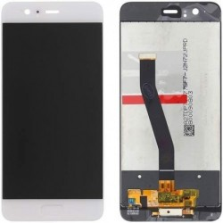 Ekranas Huawei P10 su lietimui jautriu stikliuku baltas ORG