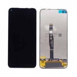 Ekranas Huawei P40 Lite/Nova 6 SE/P20 Lite 2019/Nova 5i su lietimui jautriu stikliuku juodas ORG