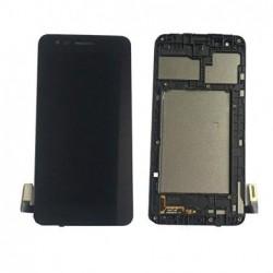 Ekranas LG M160 K4 (2017) su lietimui jautriu stikliuku juodas originalus (used grade B)