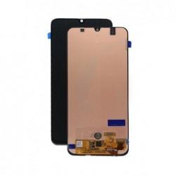Ekranas Samsung A505 A50 2019 su lietimui jautriu stikliuku juodas TFT
