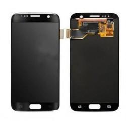 Ekranas Samsung G930F S7 su lietimui jautriu stikliuku juodas originalus (service pack)