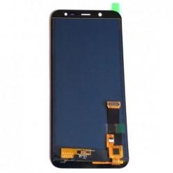 Ekranas Samsung J600 J6 2018 su lietimui jautriu stikliuku juodas (TFT version, adjustable brightnes
