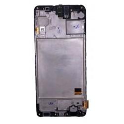 Ekranas Samsung M317 M31S 2020 su lietimui jautriu stikliuku juodas originalus (service pack)