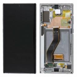 Ekranas Samsung N975 Note 10 Plus/N976 Note 10 Plus 5G su lietimui jautriu stikliuku ir remeliu sida