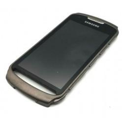 Ekranas Samsung S7710 su lietimui jautriu stikliuku pilkas originalus (used Grade C)