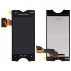 Ekranas Sony ST18 Xperia Ray su lietimui jautriu stikliuku juodas ORG