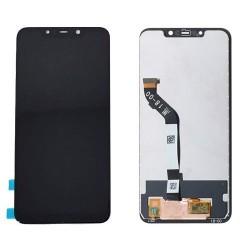 Ekranas Xiaomi F1 Pocophone su lietimui jautriu stikliuku juodas HQ