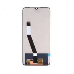 Ekranas Xiaomi Redmi 9 su lietimui jautriu stikliuku juodas HQ