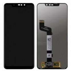 Ekranas Xiaomi Redmi Note 6 Pro su lietimui jautriu stikliuku juodas HQ