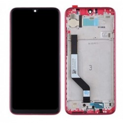 Ekranas Xiaomi Redmi Note 7 su lietimui jautriu stikliuku raudonas originalus (service pack)