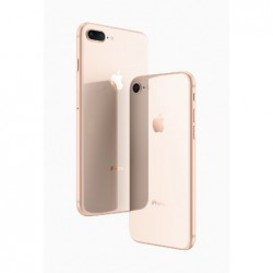 Galinis dangtelis iPhone 8 auksinis pilnas HQ