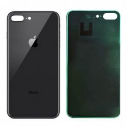 Galinis dangtelis iPhone 8 Plus pilkas (space grey) HQ
