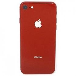 Galinis dangtelis iPhone 8 raudonas pilnas HQ