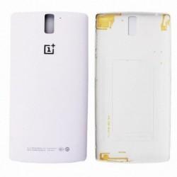 Galinis dangtelis OnePlus One baltas originalus (used Grade A)