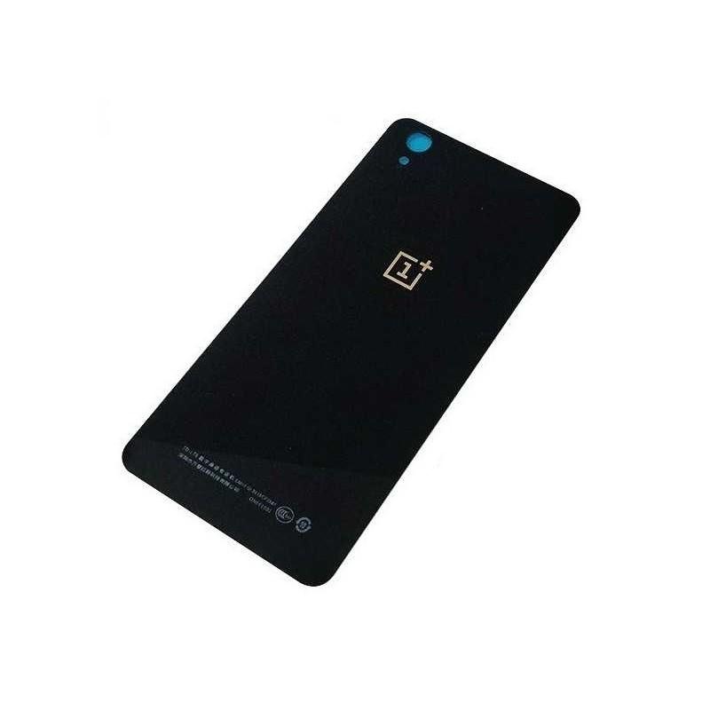 Galinis dangtelis OnePlus X juodas originalus (used Grade B)