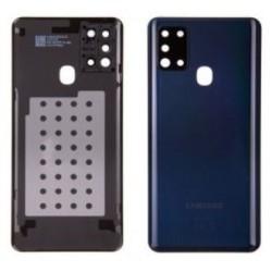 Galinis dangtelis Samsung A217 A21s 2020 juodas originalus (used Grade C)