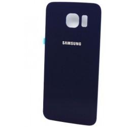 Galinis dangtelis Samsung G920F S6 melynas (juodas) originalus (used Grade C)