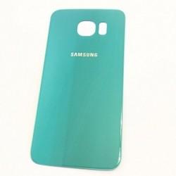Galinis dangtelis Samsung G920F S6 sviesiai melynas (Blue Topaz) HQ
