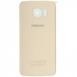 Galinis dangtelis Samsung G925F S6 Edge auksinis originalus (used Grade B)