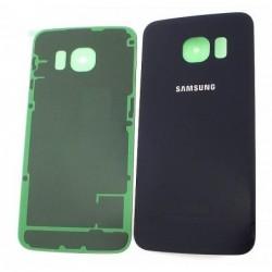 Galinis dangtelis Samsung G925F S6 Edge melynas (juodas) HQ