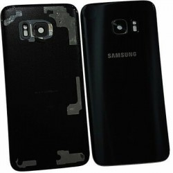 Galinis dangtelis Samsung G930F S7 juodas originalus (used Grade C)