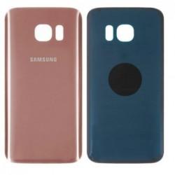 Galinis dangtelis Samsung G930F S7 rozinis (rose pink) HQ