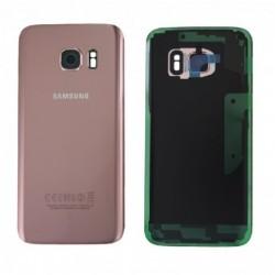 Galinis dangtelis Samsung G930F S7 rozinis (rose pink) originalus (used Grade B)