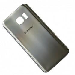 Galinis dangtelis Samsung G930F S7 sidabrinis HQ