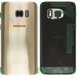 Galinis dangtelis Samsung G935F S7 Edge auksinis originalus (used Grade C)