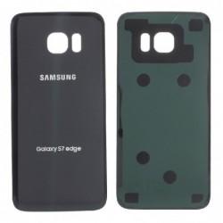 Galinis dangtelis Samsung G935F S7 Edge juodas HQ