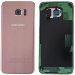 Galinis dangtelis Samsung G935F S7 Edge rozinis (rose pink) originalus (used Grade C)