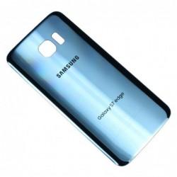 Galinis dangtelis Samsung G935F S7 Edge sviesiai melynas (Coral Blue) HQ
