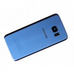 Galinis dangtelis Samsung G935F S7 Edge sviesiai melynas (Coral Blue) originalus (used Grade C)