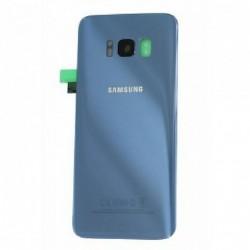 Galinis dangtelis Samsung G950F S8 sviesiai melynas (Coral Blue) originalus (used Grade B)