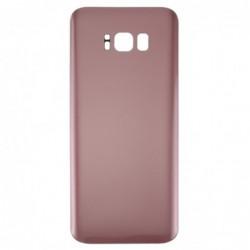 Galinis dangtelis Samsung G955F S8+ rozinis (rose pink) HQ