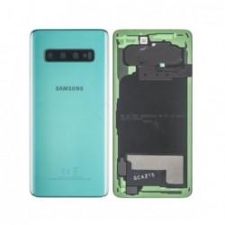 Galinis dangtelis Samsung G973 S10 zalias (Prism Green) originalus (used Grade C)