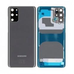 Galinis dangtelis Samsung G985/G986 S20 Plus pilkas (Cosmic Grey) originalus (used Grade A)